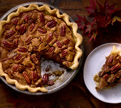 Festive Coffee Pecan Pie Recipe