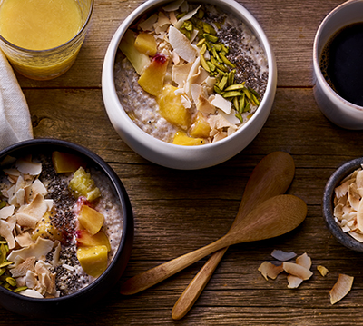 Maple and Espresso Breakfast Vitality Bowl