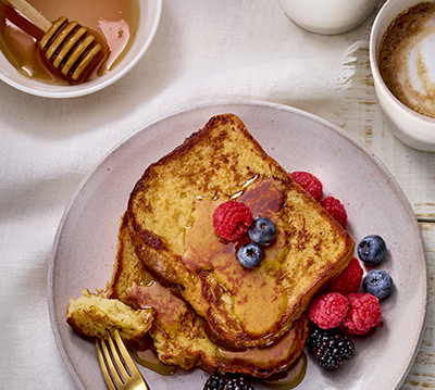 Coffee-Infused French Toast
